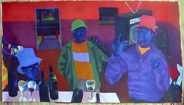 Zwelethu mthethwa painting