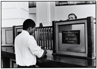 Apartheid sign: Non-Europeans teller 1958-1966