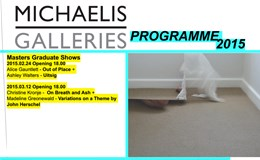 'Michaelis Galleries: Masters Graduate Shows'