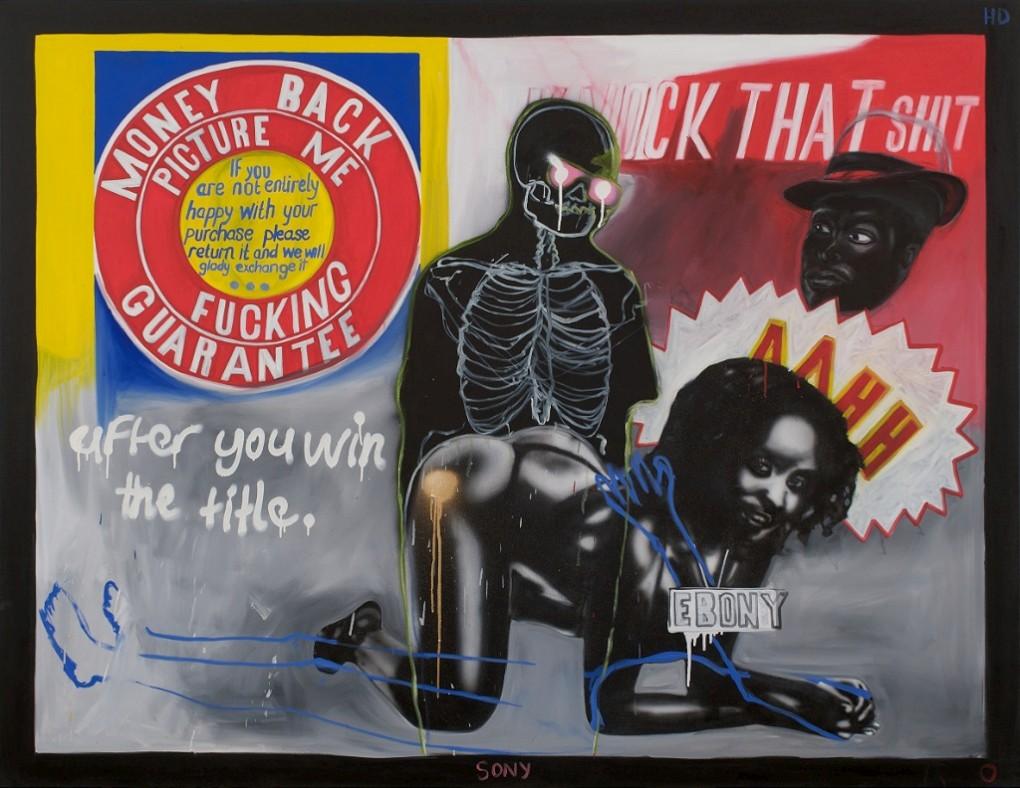 Kudzanai Chiurai,'After You Win the Title', 2010