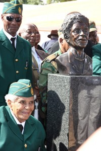 Ruth Mompati and the unveiling of the bust