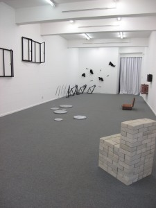 The back gallery at the Stevenson