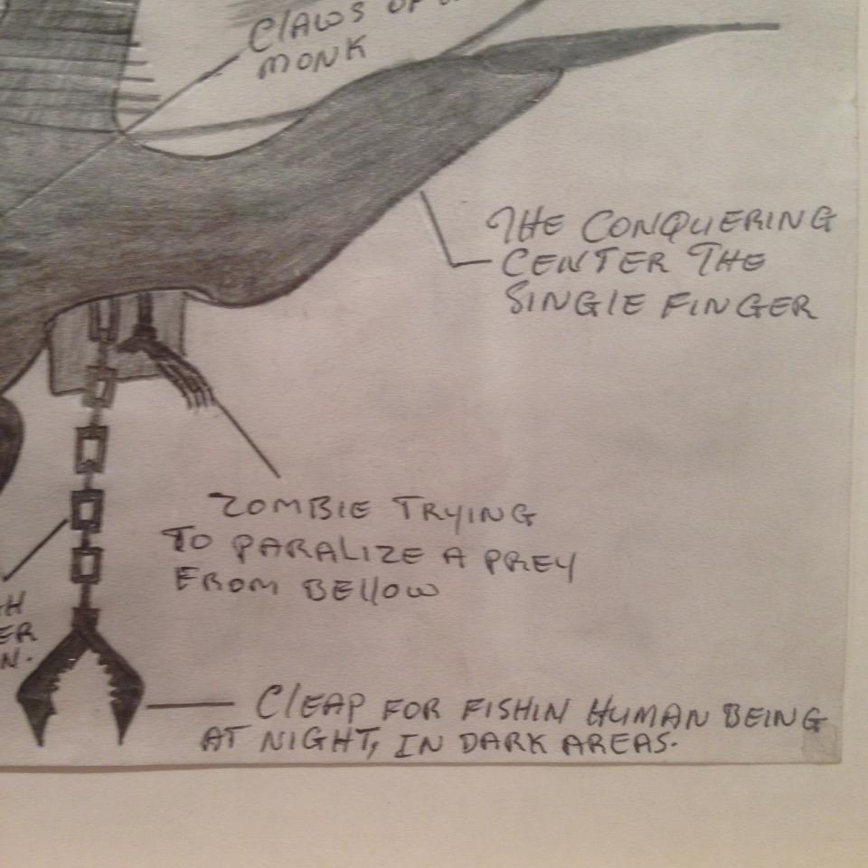 Abu Bakarr Mansaray, <i>Appajax, 2000</i> (2003) Graphite and coloured pencil