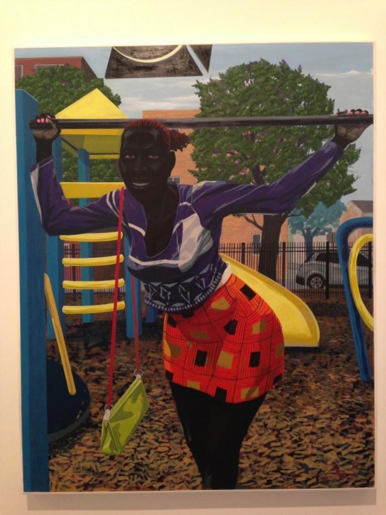 Kerry James Marshall Untitled (Playground)(2015), Acrylic on PVC panel