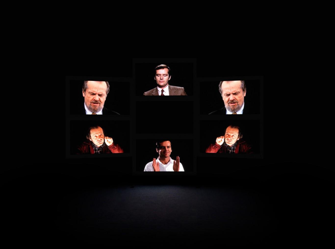 Candice Breitz, Him,1968-2008. Seven-Channel installation, duration: 28 min, 49 sec. Courtesy Goodman Gallery