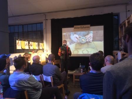 Ralph Borland, 'African Robots'. Talk at Machines Room, London.