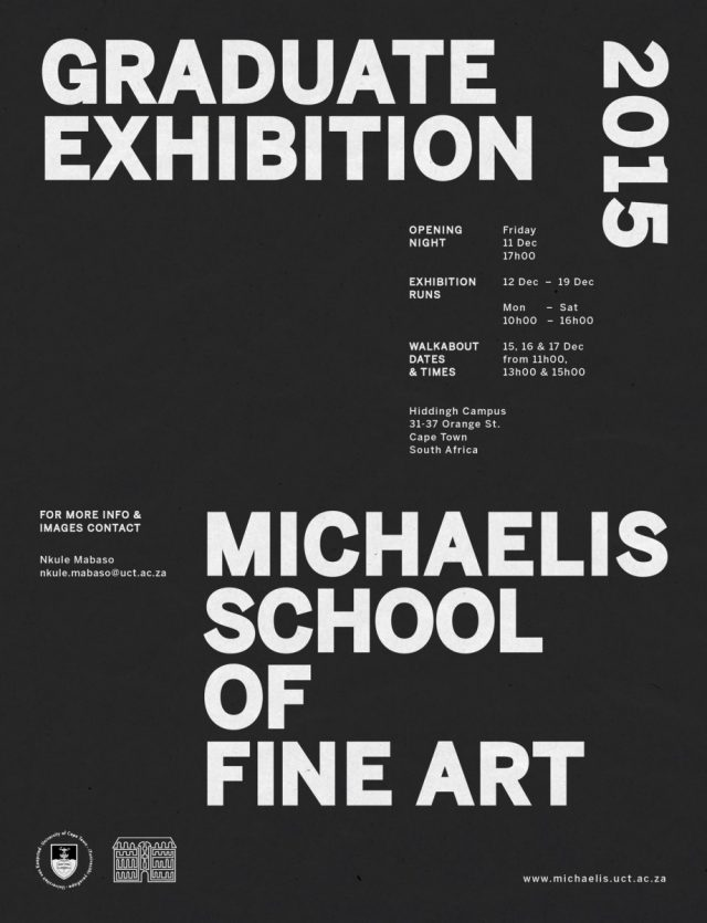 MICHAELIS Final Exhibition 2015