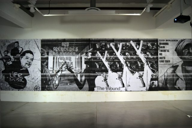 Burning Museum, 'Cover Version', 2015. Installation view: Gallery MOMO Cape Town