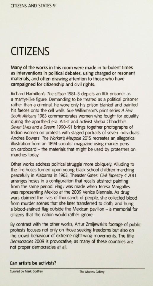 Tate Modern | Information Card