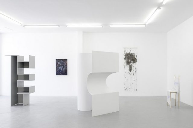 Installation view: blank projects