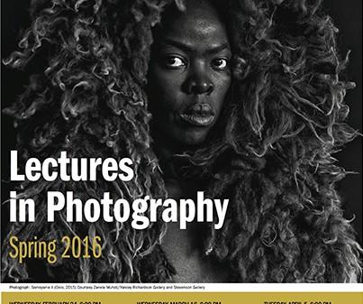 Zanele Muholi, Lectures in Photography, 2016