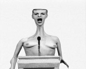 Minnette Vári, Alien, 1998. Single-channel digital video with stereo audio- video still