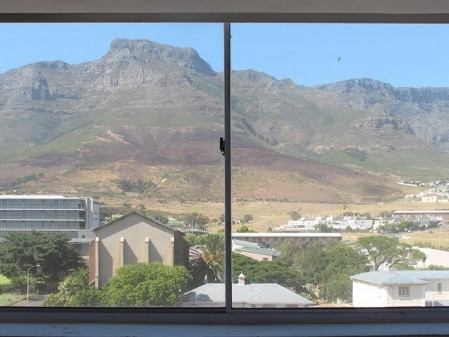 The window looking to District Six. Installation view: Goodman Gallery, Cape Town