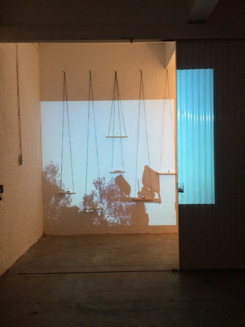 To Be Determined, group show (month long active installation), Goethe On Main