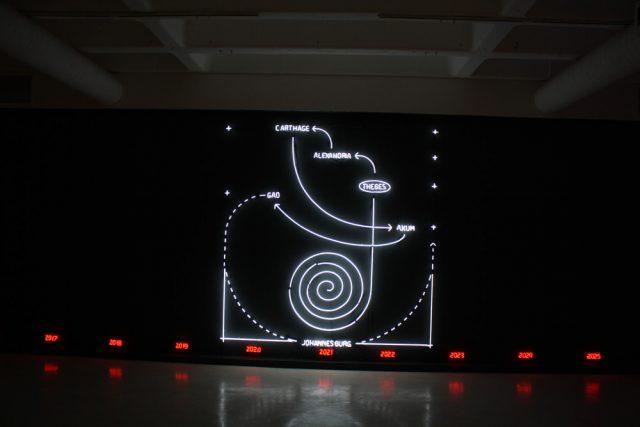 Alfredo Jaar, Johannesburg 2026, 2016. Installation view: Goodman Gallery, Johannesburg.