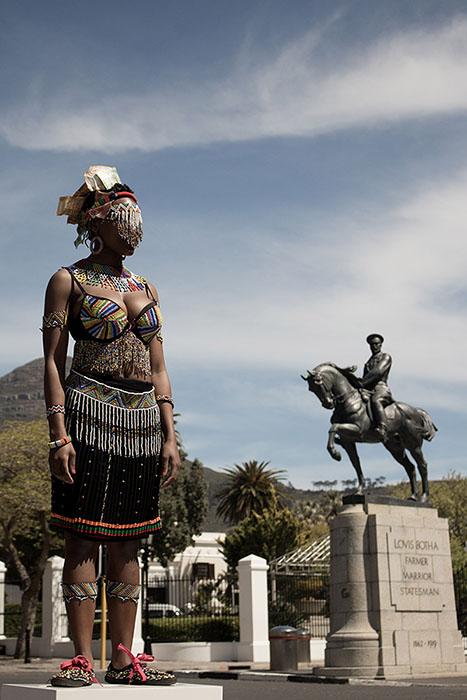Sethembile Msezane, Untitled (Heritage Day) 2013