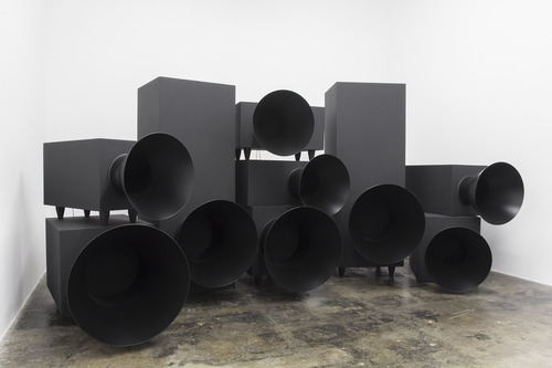 James Webb, Children of the Revolution, 2014. Installation view: blank projects, 2014