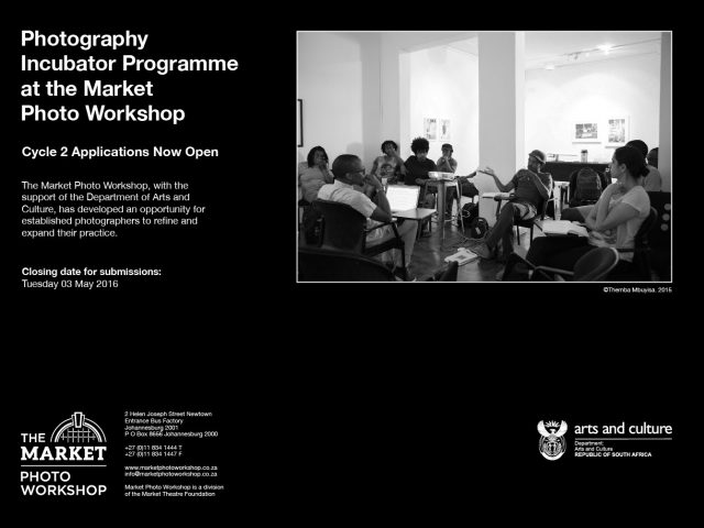 Market Photo: Workshop Incubator Programme, 2016