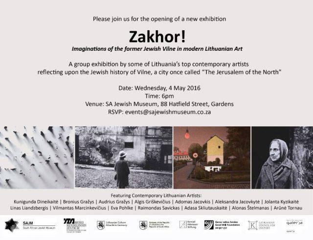 Zakhor! Invite