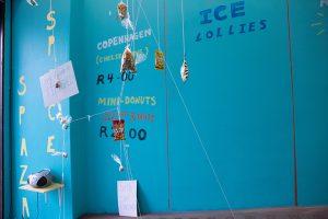 Nyakallo Maleke, <i>Spaza Space</i>, 2015. Installation Shot: STEVENSON, Cape Town