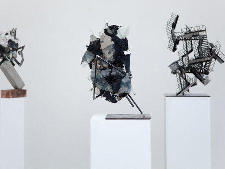 Jake Singer, CATASTROPHES, 2016. Installation view: Hazard Gallery.