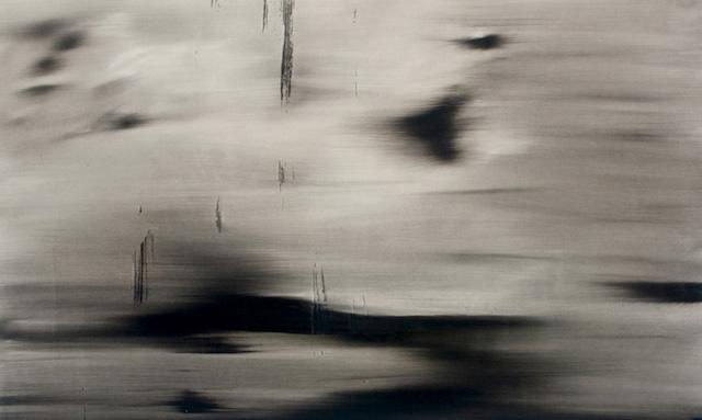 Alexandra Karakashian, Collapse, 2016. Oil on canvas.