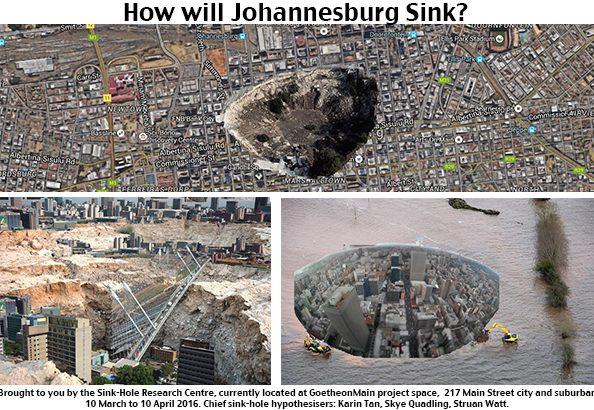 Skye + Karin, How Will Johannesburg Sink, 2016