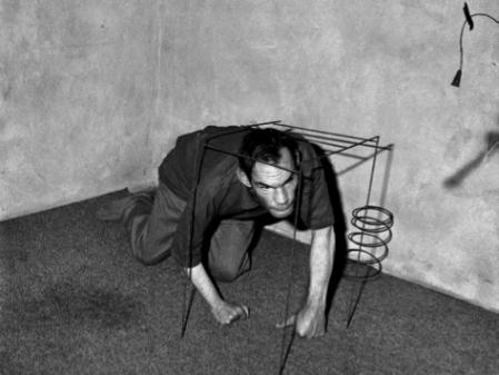 Roger Ballen, Crawling Man (2002)