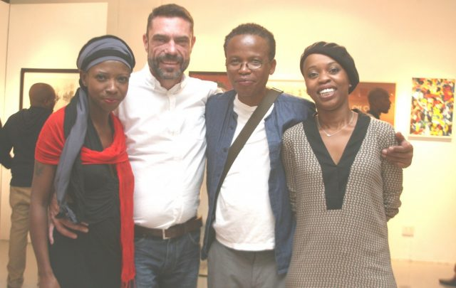 SOSESAME Gallery Directors | Naomi Menyoko, Mauritz Cloete, Johannes Phokela, Dr Same Mdluli