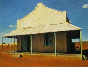 Walter Meyer <i>Putsonderwater</i>, 2008. Oil on canvas