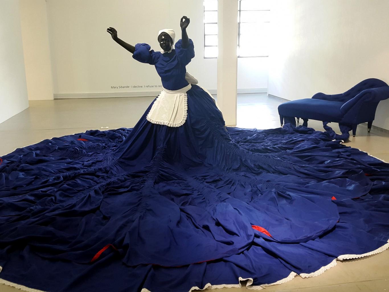 Mary Sibande at Gallery MOMO