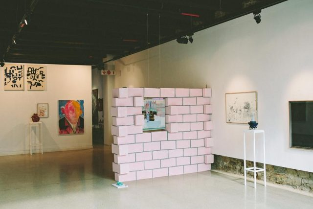 From Whence They Came , Installation view: SMITH, 2016.