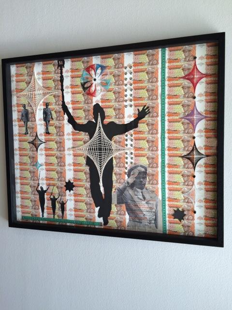 Maurice Mbikayi at Gallery MOMO