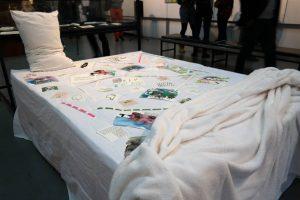 Banele Khoza Our Bed, 2016. installation