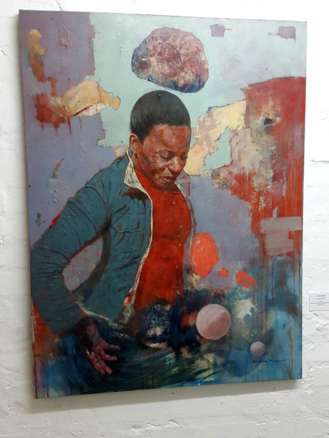Restone Maambo at Eclectica Contemporary