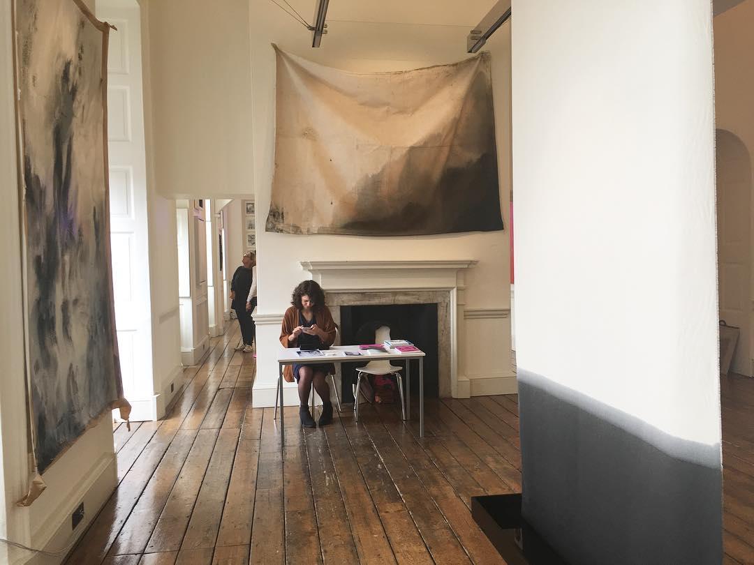 Alexandra Karakashian's 'Passage' at 1:54 Art Fair, Somerset House, 2016. Image: 1:54 Art Fair/Instagram