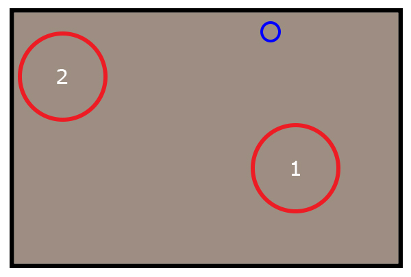 Mthethwa Trial: Approximate Camera 5 view, CCTV Footage. <p>The blue circle indicates Camera 2 (Tollgate)