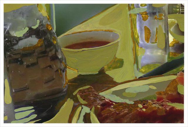 Jeanne Gaigher, Mombasa Restaurant (I), 2016. Gicleé print on archival paper, 44 x 65cm