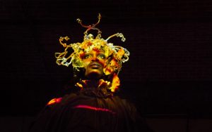 Athi-Patra Ruga performing <i>Over the Rainbow</i>. Photo courtesy Elise Swain