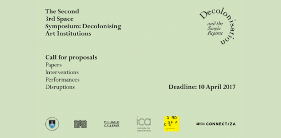 Call for Proposals | 3rd Space Symposium: Decolonising Art Institutions