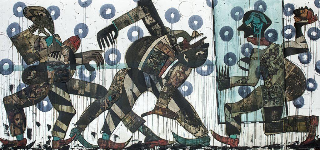 Black Art, White Galleries: Blessing Ngobeni's 'Masked Reality'
