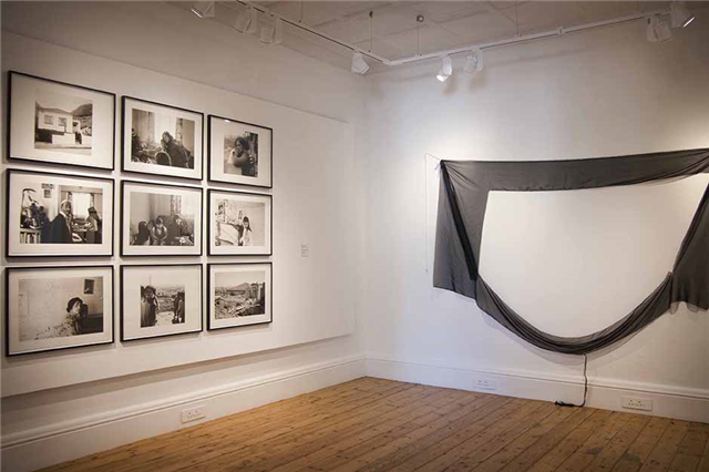 Installation view: No fixed abode