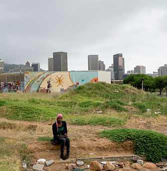 David Lurie Refugee from DRC, Zonnebloem, Cape Town, 2013. Digital print on fibre-based archival paper, 65 x 97 cm