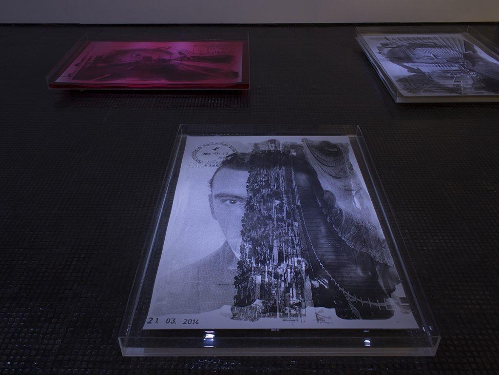 Délio Jasse, Ausência Permanente, 2014. Installation view: SMAC Gallery