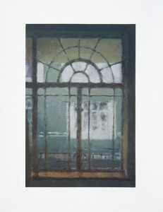 Ian Grose Studio Window (Winter), 2014. Oil on linen, 48.5 x 36 cm