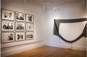 <i>No Fixed Abode</i>, 2014. Installation view: The New Church Museum