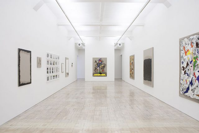 Zander Blom New Paintings, 2014. Installation view, STEVENSON, Cape Town