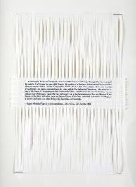 Dan Halter, On Exactitude in Science. Woven archival prints on Ivory Enigma paper, 28 x 19 cm