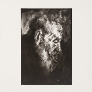 Lauren Palte, Untitled (after Rembrandt). Hand-print on fibre paper, 37.2 x 28.9 cm