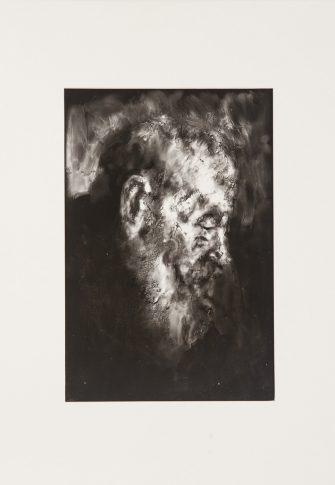 Lauren Palte, Untitled (after Rembrandt). Hand-print on fibre paper, 37.2 x 28.9 cm